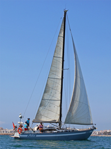 cadiz bay sailing tour day trip